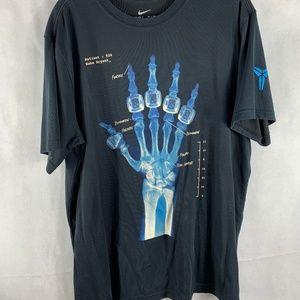 Nike Kobe Bryant Championship Ring Skeleton Shirt